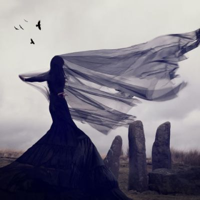 lady-on-the-moors-wind-blowing-by-nicola-taylor