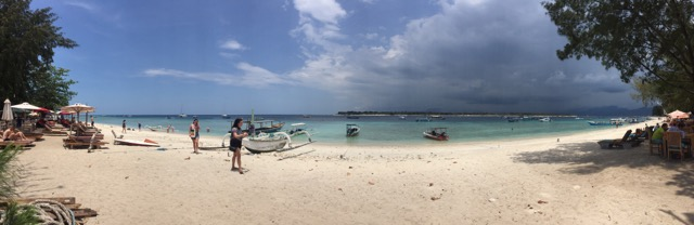Beach at Gili Trawangan