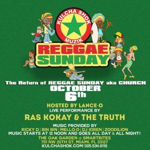 Kulcha Shok Reggae Sunday