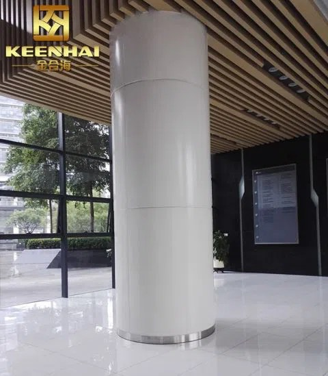 Stainless Steel Column Cladding Cover Manufacturers And