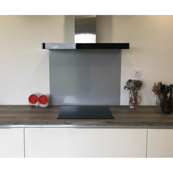 credence aluminium gris ral 9006