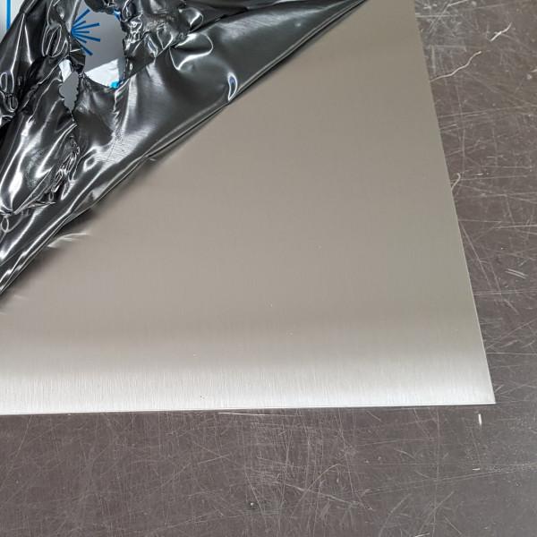plaque inox brosse 1 5 mm