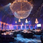 Iluminação London: EJAF Winter Ball von Elton John jantar de gala