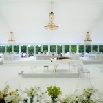 wedding decorations with chandeliers