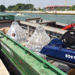 lustres enormes para um casamento em Veneza