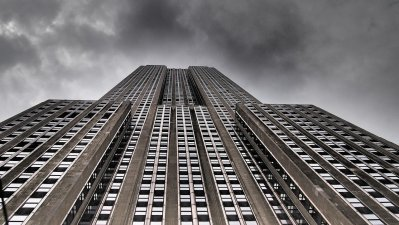 skyline, new york, empire state building