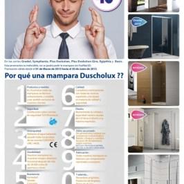 Promoció mampares Duscholux 2015