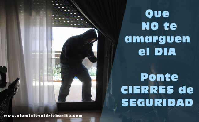 Seguridad para ventanas y puertas de aluminio