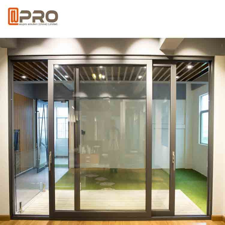 slim frame aluminium sliding doors