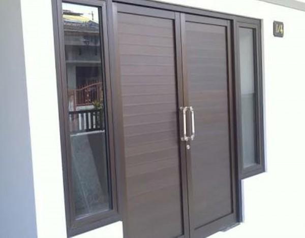 gambar pintu panel aluminium 0