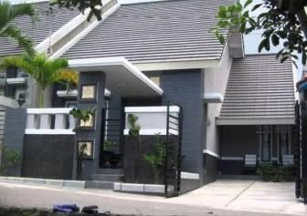 Desain Pagar Tembok Rumah Minimalis Type 36