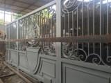 Pintu Pagar Besi Tempa Minimalis
