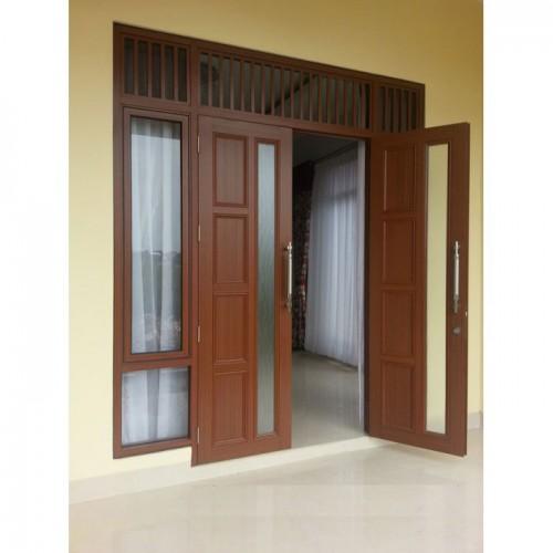 Pintu Utama Aluminium, Contoh Desain Dan Harga Terbaru
