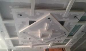 plafon gypsum minimalis terbaru