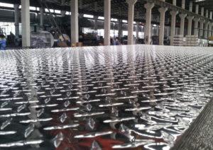 4x8 embossed aluminium diamond plate sheet