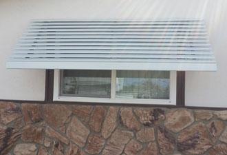 Aluminum Window Awnings Door Hoods San Diego CA Chula