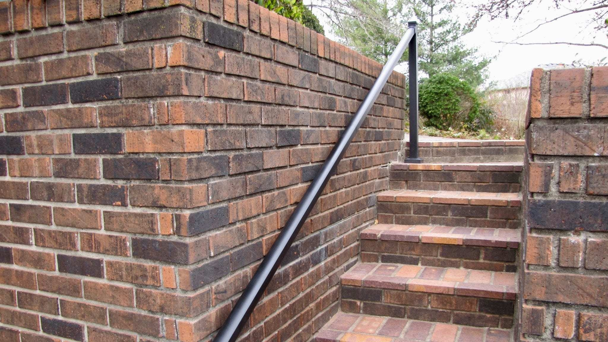 How To Treat Slippery Aluminum Handrails Ahd   Aluminum Steps With Handrail   Boat Dock   Wheelchair Ramp   Stair Treads   Folding   Stair System