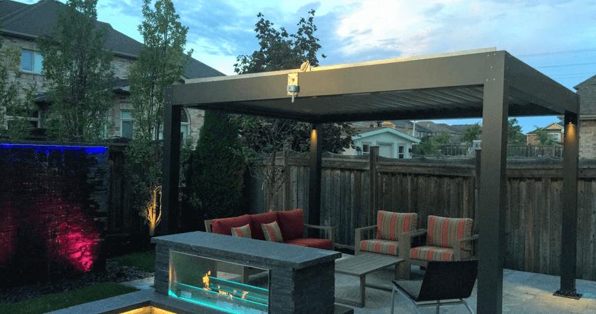 patio pergola a trendy landscaping