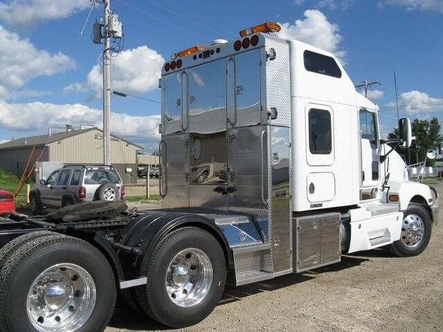custom all aluminum trailers truck