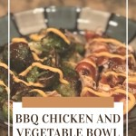 BBQ Chicken and Vegetable Bowl