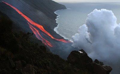 erupção efusiva