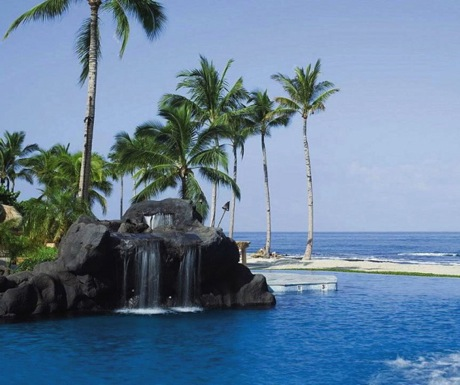 Kids Pool - Four Seasons Hualalai Sea Shell Pool