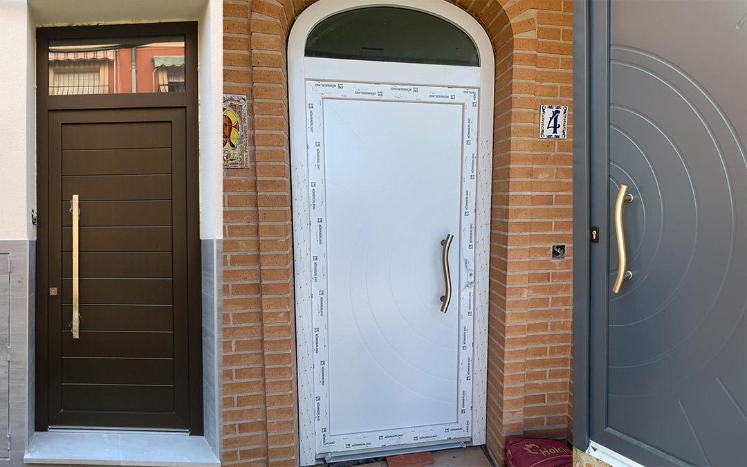 Instalación de puertas de PVC en Alicante