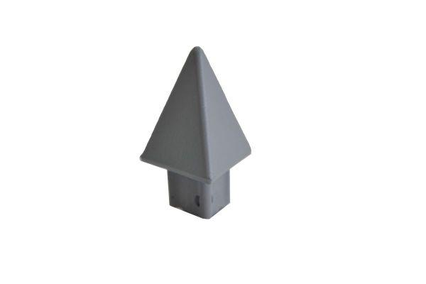 Zaunkappe für Dreieckslatte