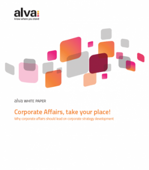 Why corporate affairs should lead on corporate strategy development