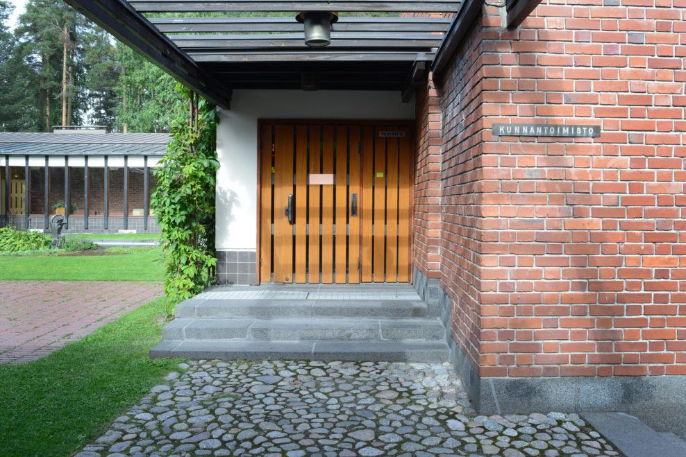 S 228 Yn 228 Tsalo Town Hall Alvar Aalto Foundation Alvar