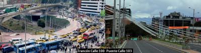 Trancón Bogotá Calle 100
