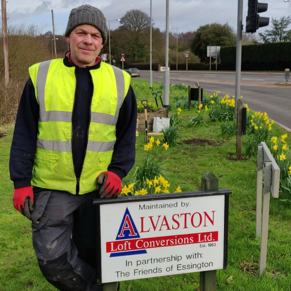 alvaston gives back