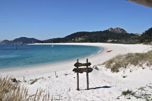 Playa Rodas islas cies