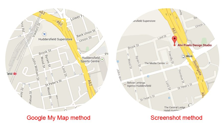 Need A High Resolution 300dpi Google Map For Printing