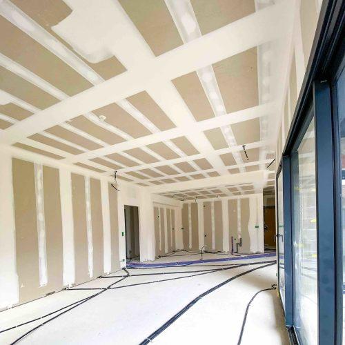 ALVITPLAQUISTE-Chantier-Villelongue-de-la-Salanque-Maison-Architecte-Villa-Placo-Joints-Jointeur-7