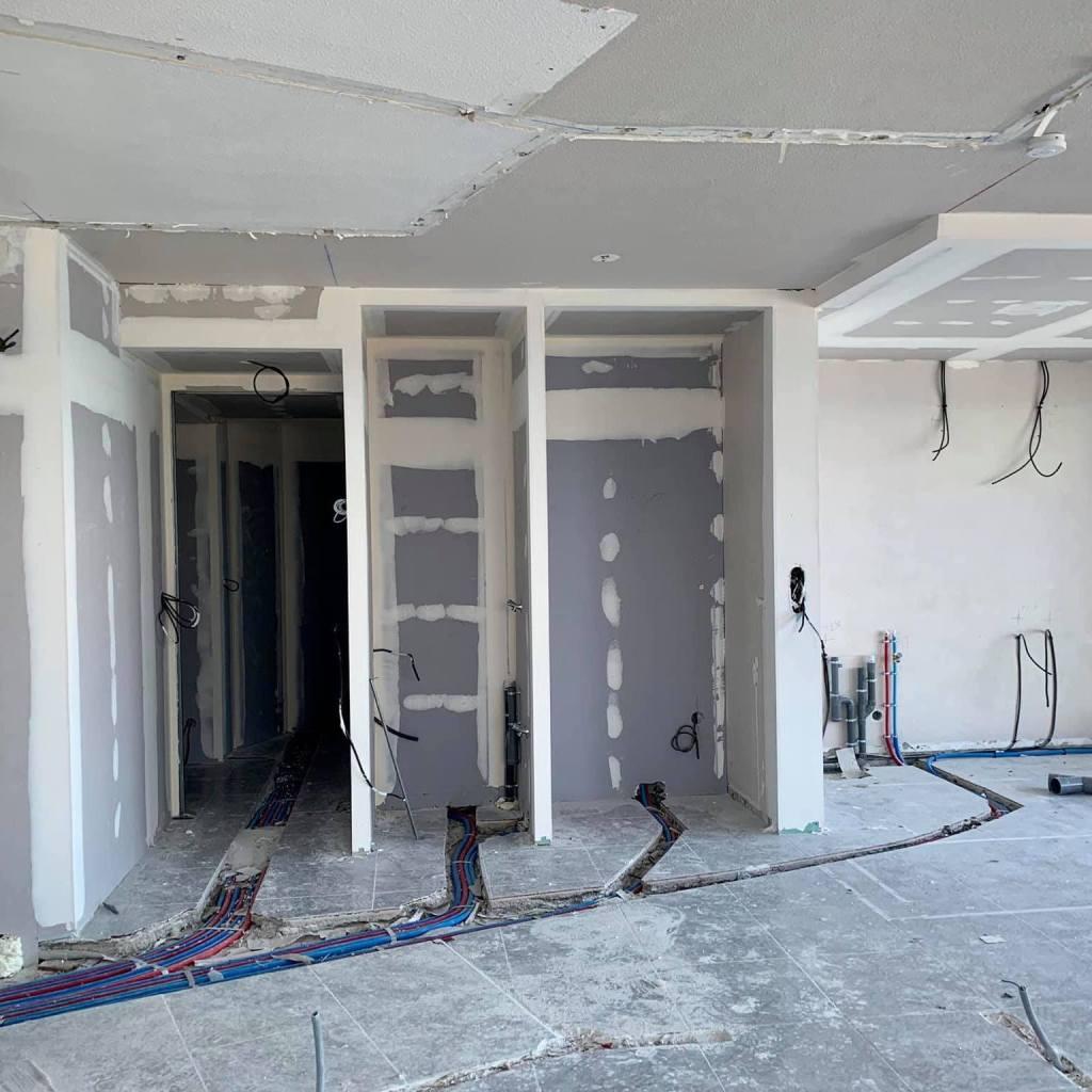 ALVITPLAQUISTE-Chantier-Renovation-complete-Canet-Etage-Appartement-Placo-Joints-Jointeur-2