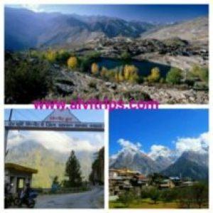 किन्नौर हिमाचल प्रदेश के सुंदर दृश्य