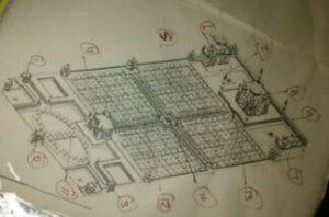 ताजमहल का इतिहास ताजमहल का नक्शा