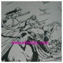 नबेगम हजरत महल का अंग्रेजो के खिलाफ युद्ध का काल्पिनिक चित्र