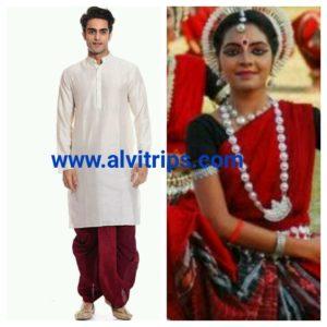 ओडिशा का पहनावा
