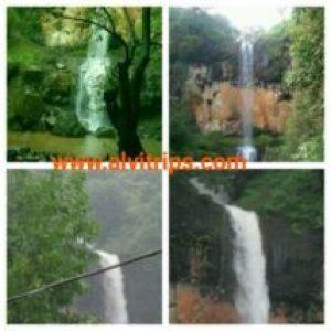 राउतवाडी झरने के सुंदर दृश्य कोहलापुर पर्यटन