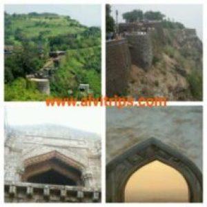 पन्हाला फोर्ट के सुंदर दृश्य कोहलापुर पर्यटन