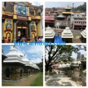 पशुपतिनाथ मंदिर के सुंदर दृश्य