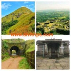 सकलेशपुर पर्यटन स्थलों के सुंदर दृश्य