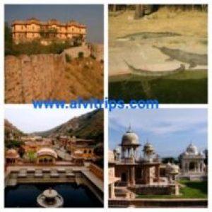 जयपुर पर्यटन स्थलों के सुंदर दृश्य