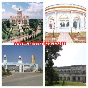 रामपुर आकर्षक स्थलों के सुंदर दृश्य