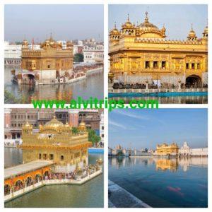स्वर्ण मंदिर अमृतसर के सुंदर दृश्य