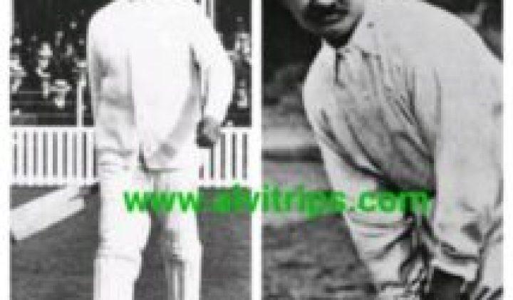 रणजीत सिंह क्रिकेटर भारत के प्रथम क्रिकेट खिलाडी