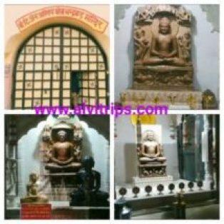 दिगंबर जैन मंदिर चन्दवार प्रतिमाएं