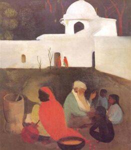 Amrita shergill paintings